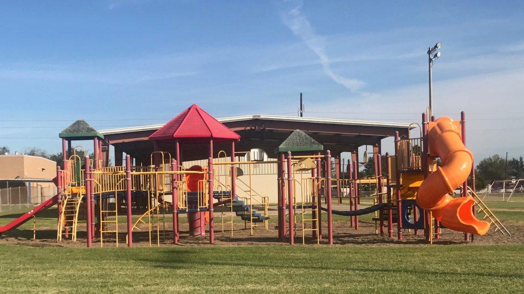 Escandon Elementary in McAllen, TX. Pre-renovation